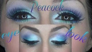 Peacock Eye Tutorial