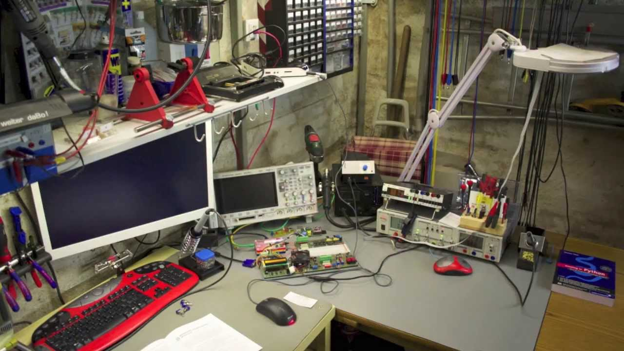 My Electronic Lab V2 YouTube