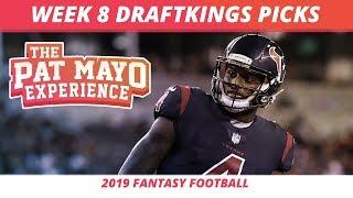 2019 Fantasy Football Rankings — NFL Week 8 DraftKings Picks, Predictions, Preview, Sleepers