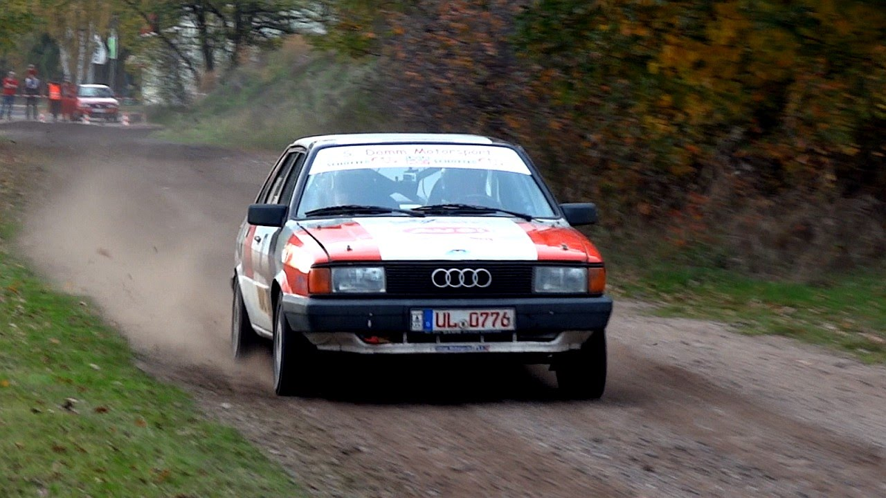 audi 80 gte quattro b2 rally sound youtube. Black Bedroom Furniture Sets. Home Design Ideas