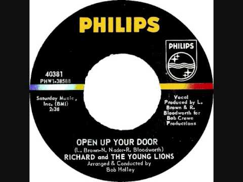 Richard & The Young Lions - Open up your door