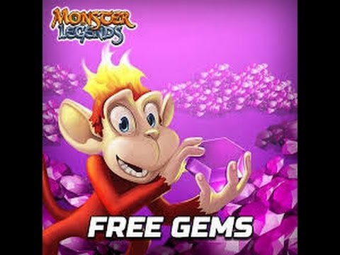 Monster Legends how to get free gems [100%]