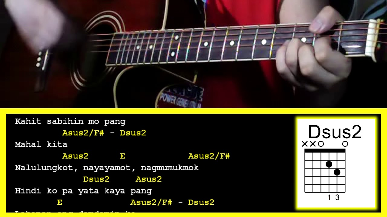 Rebound By Silent Sanctuary Guitar Chords Youtube