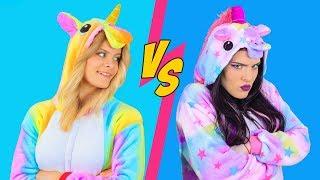 Maquillaje De Unicornio Buena vs Unicornio Mala / 8 Increíb...