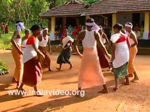 Chavittukali; a folk dance of Kerala