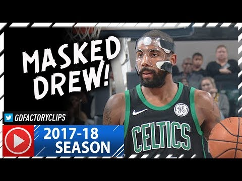 Masked Kyrie Irving Full Highlights vs Pacers (2017.11.25) - 25 Pts, CRAZY Handles!