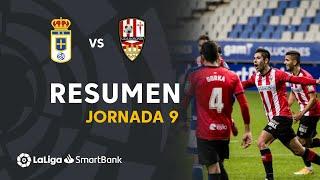 Resumen de Real Oviedo vs UD Logroñés (2-3)