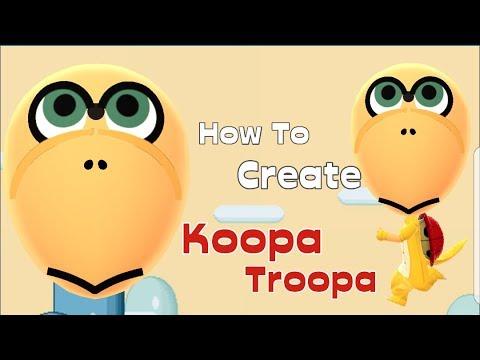 Mii Maker: How To Create Koopa Troopa!