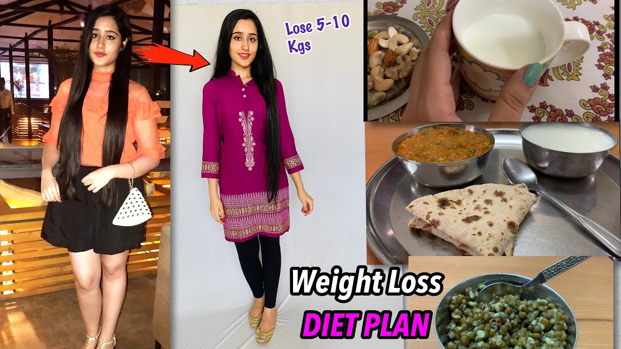 MY WEIGHT LOSS DIET PLAN – Lose 10 Kgs in 1 Month