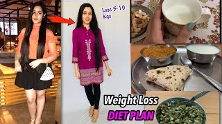 MY WEIGHT LOSS DIET PLAN - Lose 10 Kgs in 1 Month