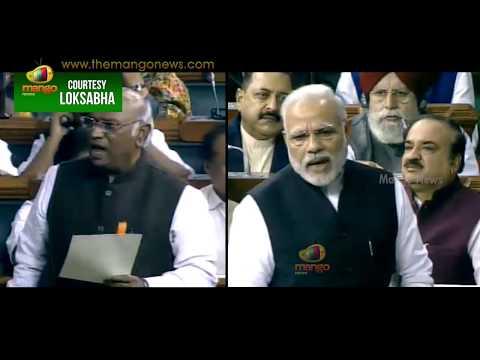 PM Modi Counter thrashes On Mallikarjun Kharge Comments | Lok Sabha | Mango News