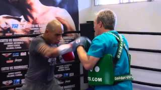 RingTV reports: Miguel Cotto media workout