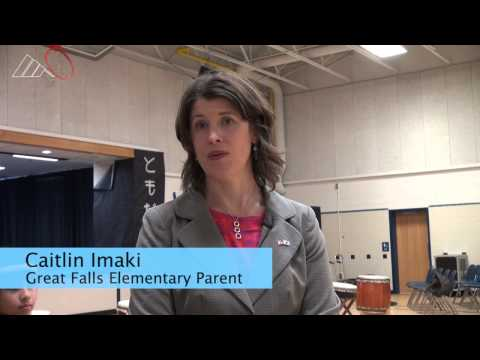 First Lady Michelle Obama, Akie Abe visit Great Falls Elementary in Virginia