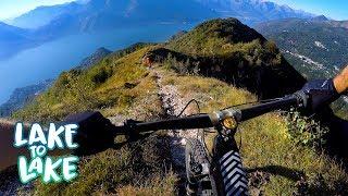 We call it stupid fun   Mountain Biking Italy, Lake to Lake Part 6