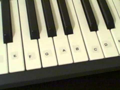 Piano piano tabs zelda lost woods : Piano Tutorial 1 - Lost Woods from The Legend off Zelda Ocarina of ...