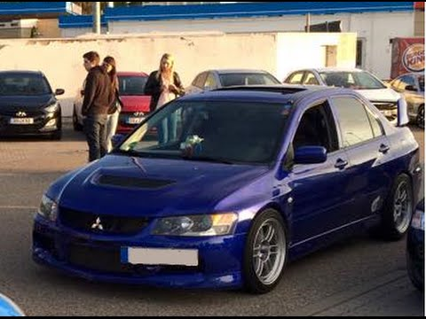 500 hp evo ix sonic new clutch 1st launch