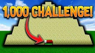 1000 ENDSTONE BEDWARS CHALLENGE w/ PrestonPlayz!!