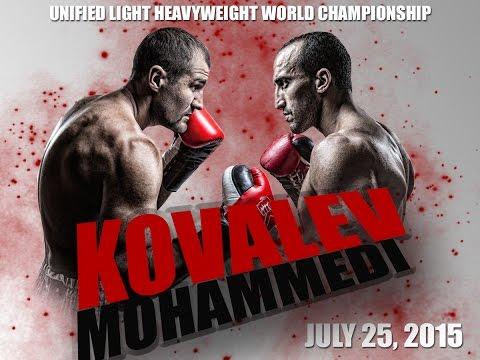 KOVALEV - MOHAMMEDI Weigh-In