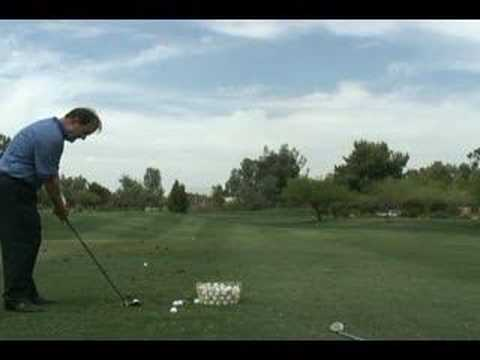 PurePoint Golf Video Lessons - Don't Have Too Vertical a Takeaway - Backswing