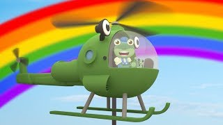 Gecko's Garage - Helen The Helicopter | Vehicles For Kids | Learning Videos For Toddlers | Cartoon