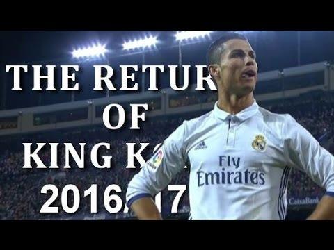 ♕ Cristiano Ronaldo ➐ The Return of King Kong 2016/17 ♕