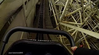 Wild Mouse, Pleasure Beach Blackpool 2015 (Inc POV).