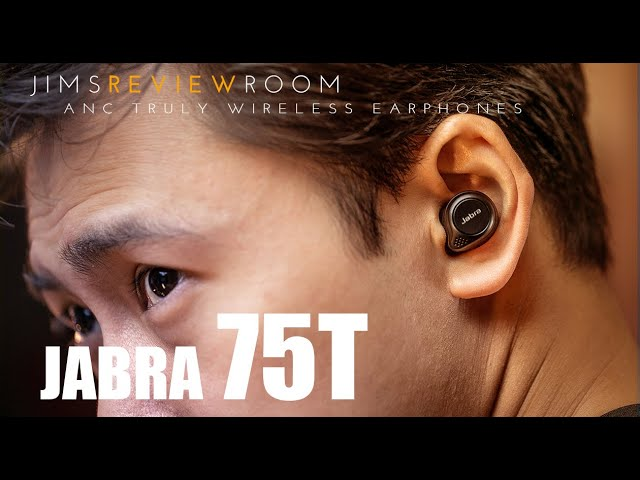 Jabra Elite 75t Truly Wireless Earphone Review Youtube