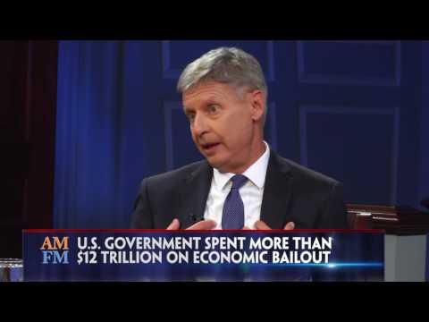 Gary Johnson On Federal Research