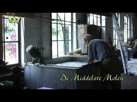 The art of making paper - De Middelste Molen anno 1622 - Papier scheppen