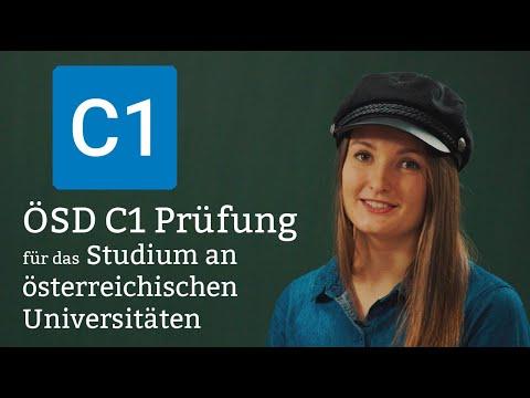 ÖSD C1 Prüfung - Für Das Studium In Österreich.