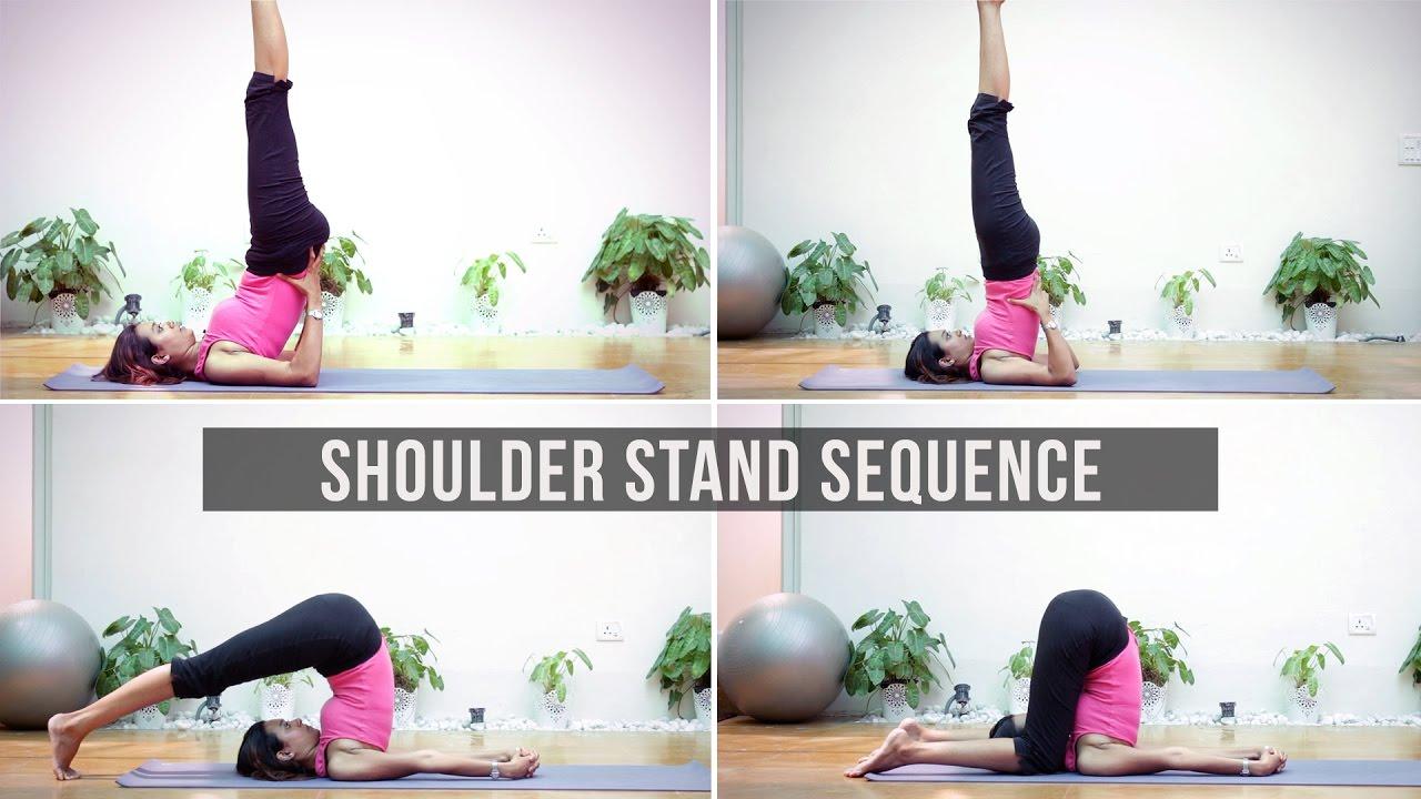 Shoulder Stand Sanskrit Name