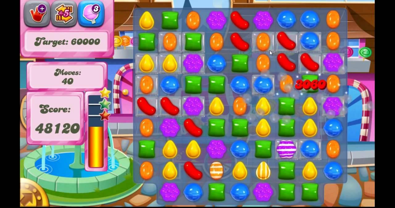 รีวิวเกมCandy Crush Saga เรียงเพชร  Android Apps