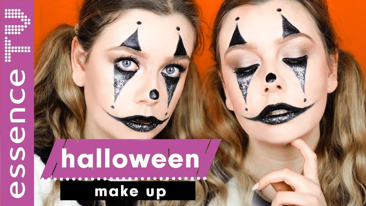 Halloween Schminken Deutsch.Last Minute Halloween Make Up Tutorial Deutsch Mit Produkten Die Du Zu Hause Hast