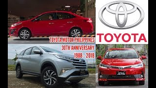The Favorite Cars of Toyota Motor Philippines in History (#TMPat30 Special)