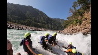 Deadly rafting at rishikesh  // River rafting accident rishikesh  november 2020 by Dil se handsome