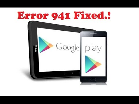 How to Fix Error 941 For Google Play ( Any Android)