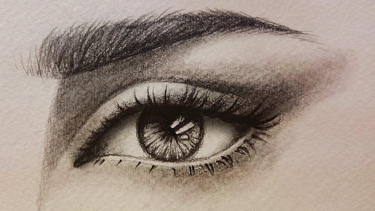 كيف رسم الحواجب بالقلم