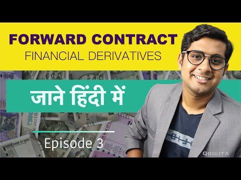 Forward Contract in Financial Derivatives In Hindi | Derivatives Share Market Episode-03 | QDIGITA
