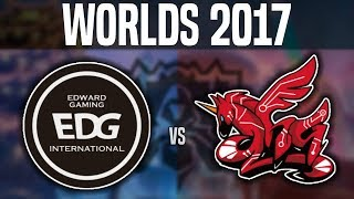 EDG vs AHQ - Worlds 2017 Group Stage Day 1 - Edward Gaming vs AHQ e-Sports | Worlds 2017
