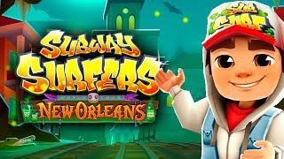 SUBWAY SURFERS GAMEPLAY HD 🎃 NEW ORLEANS - HALOWEEN 2018 ✔ JAKE AND 30 MYSTERY BOXES OPENING