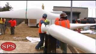 MBTA 100kw Wind Turbine Installation - Kingston, MA