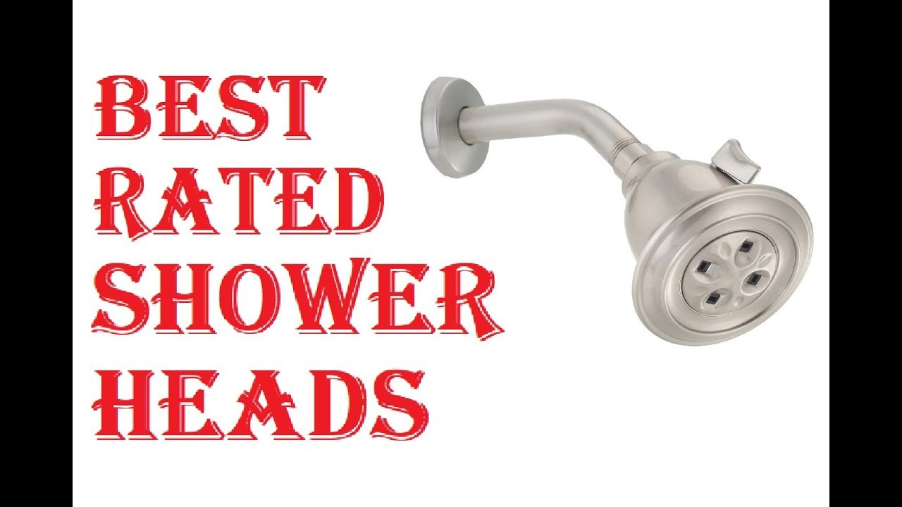 BEST RATED SHOWER HEADS 2018 - YouTube