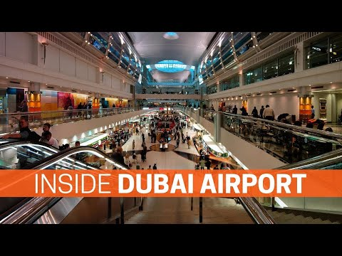 Dubai International Airport 2020 || Dubai International Airport Inside View
