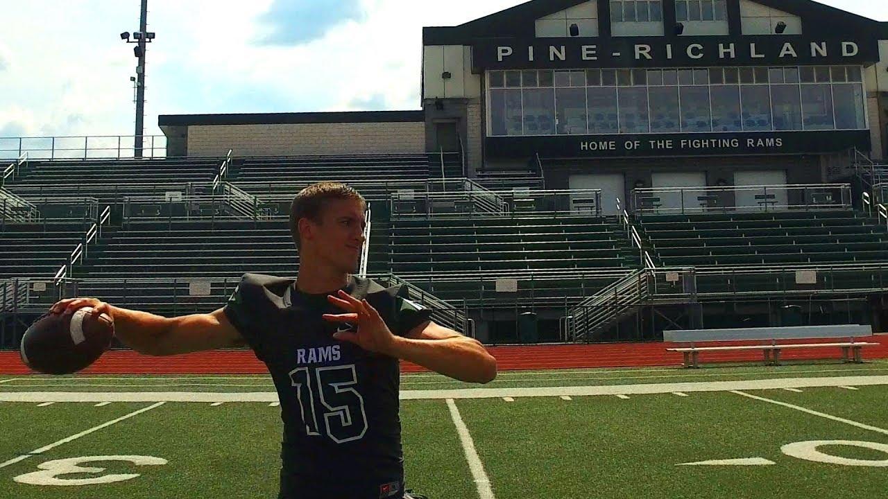 Phil Jurkovec Pine Richland Quarterback Highlights Interview Sports Stars Of Tomorrow