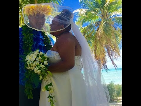 Aitutaki Cook Islands traditional wedding ceremony
