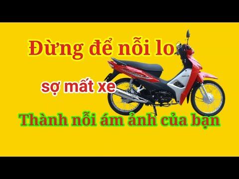 hướng dẫn chế  công tắc  chống  trộm xe máy đơn giản nhất
