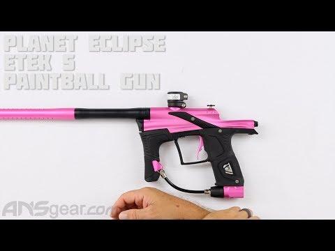 Planet Eclipse Etek 5 Paintball Gun - Maintenance/Repair