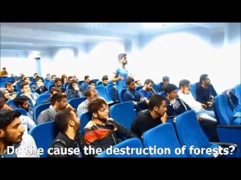 """""""At Home with Nature"""" conference in Turkey - 3rd video"""