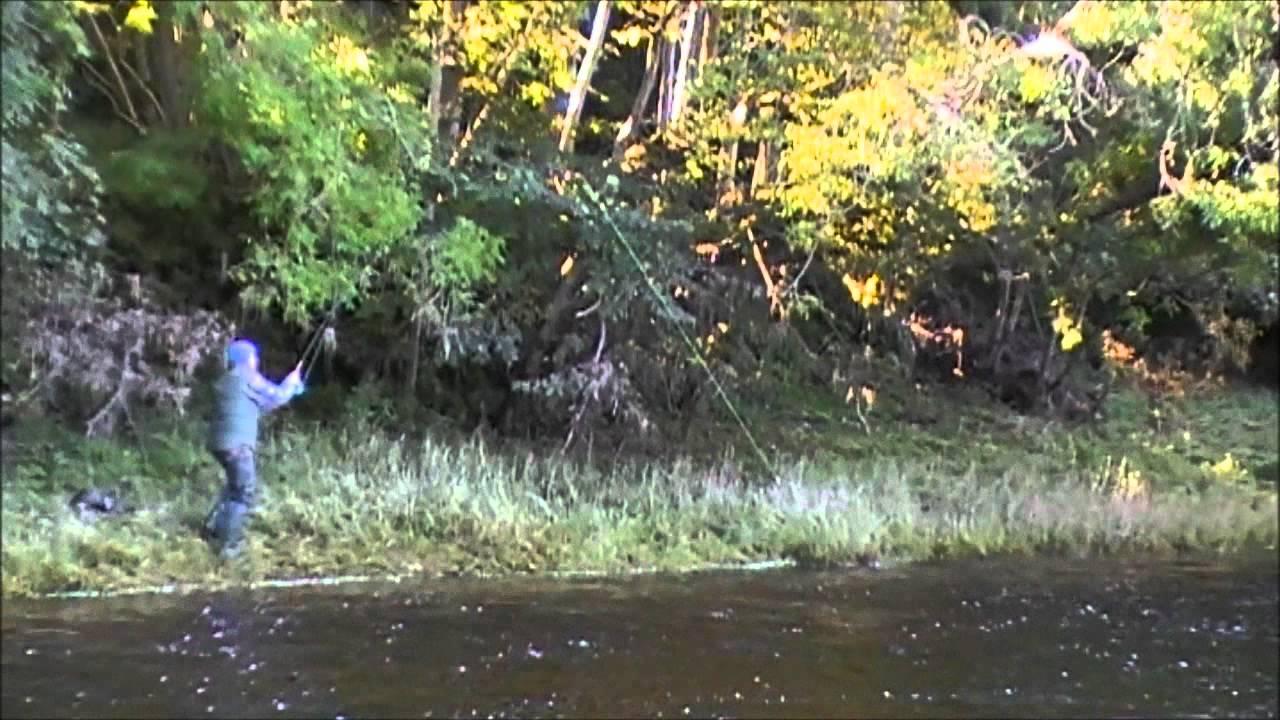 Trout fishing edinburgh youtube for Youtube trout fishing