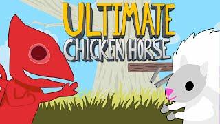 Ultimate Chicken Horse - ОВЦА С ЭРОкезом!